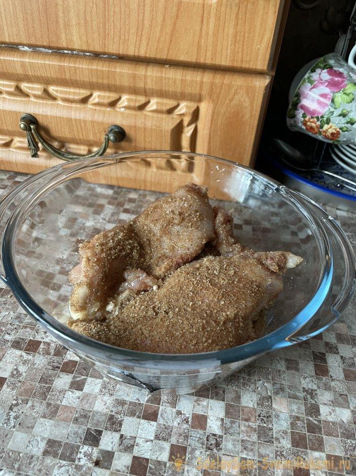 Рецепт вяленой курочки для домашнего приготовления