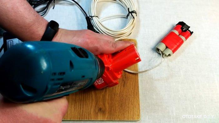 Как переделать аккумуляторный шуруповерт в сетевой без лишних усилий