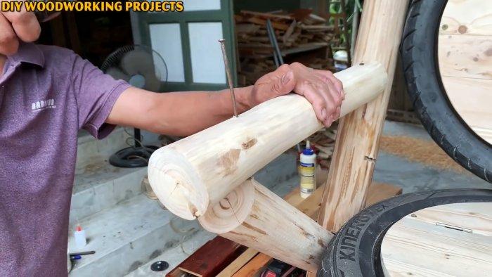 Как из старых покрышек сделать уличное кресло