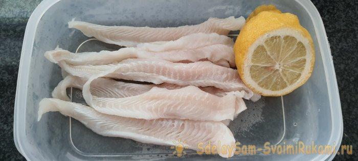 Как красиво и без панировки приготовить белую рыбу (пангасиус) как в ресторане