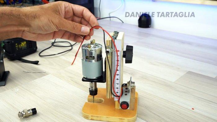 Как сделать мини фрезер с низковольтным питанием для самых различных задач