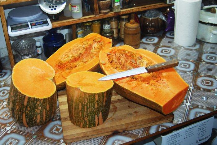 Два восхитительных десерта из одной тыквы: мармелад и цукаты