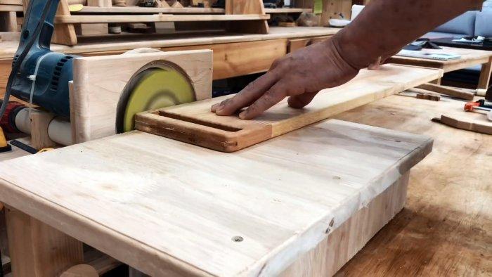 Как укрепить слабые места изделий из мебельного щита