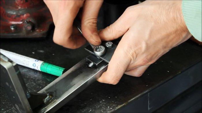 Как сделать адаптер к домкрату для подъема тяжелых грузов с низким зацепом