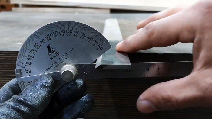 Как самостоятельно заточить длинные ножи фуговального станка
