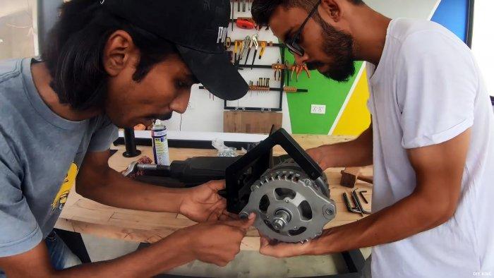 Как сделать ветрогенератор из автомобильного генератора без переделки