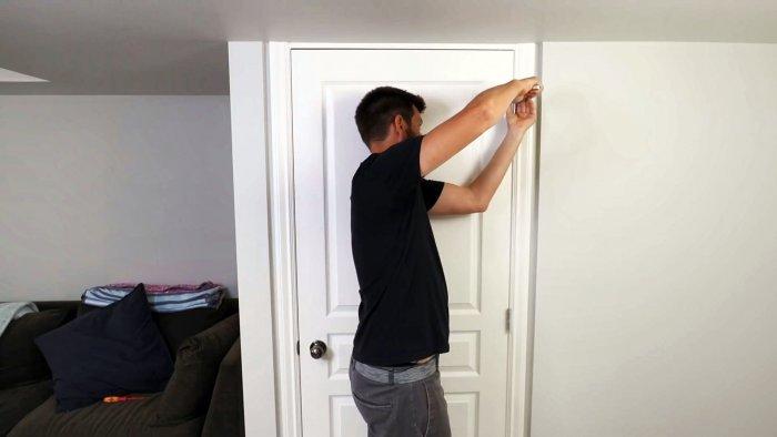 3 способа поправить провисшую дверь