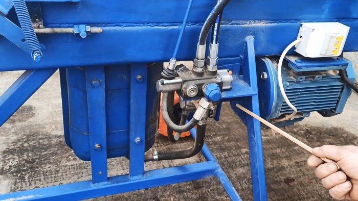 Как сделать пресс для производства топливных брикетов из опилок