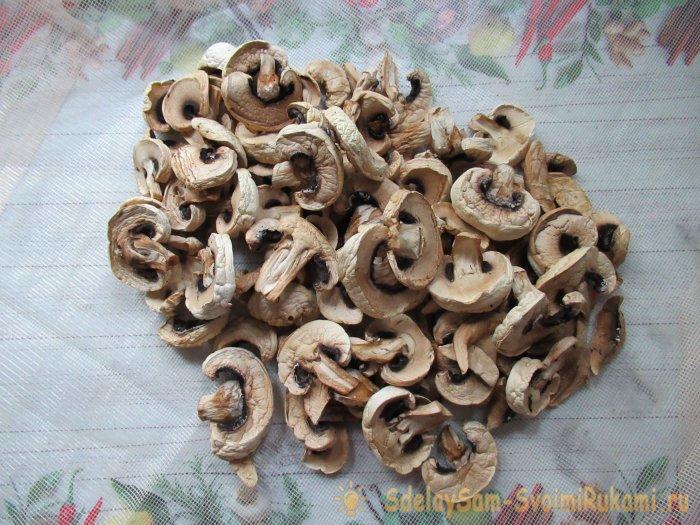 Как сделать грибной порошок в домашних условиях, вкуснейшая приправа своими руками