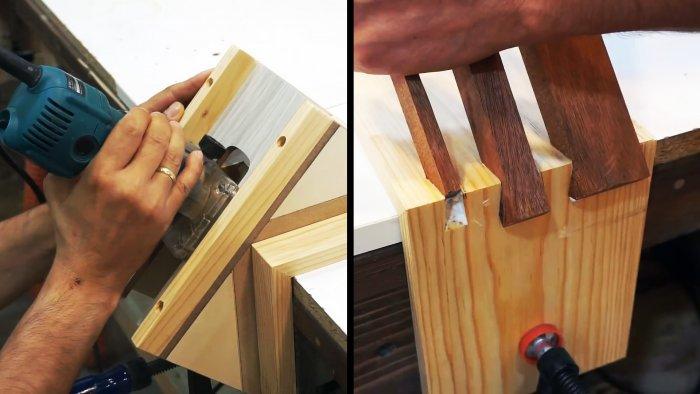 Как сделать кондуктор под фрезер для ящичного соединения под ласточкин хвост